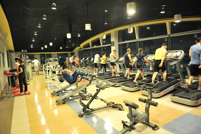 Cắt giảm năng lượng phòng tập thể hình (Gym)