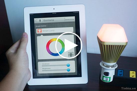 Bóng đèn LED thông minh Gunilamp được điều khiển bằng Bluetooth