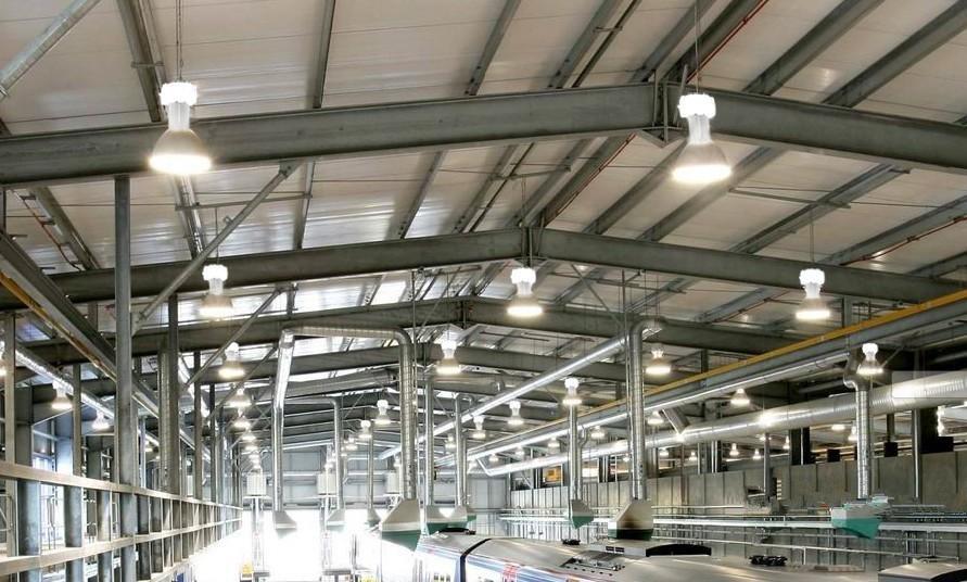 Lợi ích của sử dụng đèn LED trong nhà máy công nghiệp