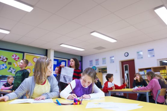 Sử dụng đèn LED hiệu quả trong ngành giáo dục