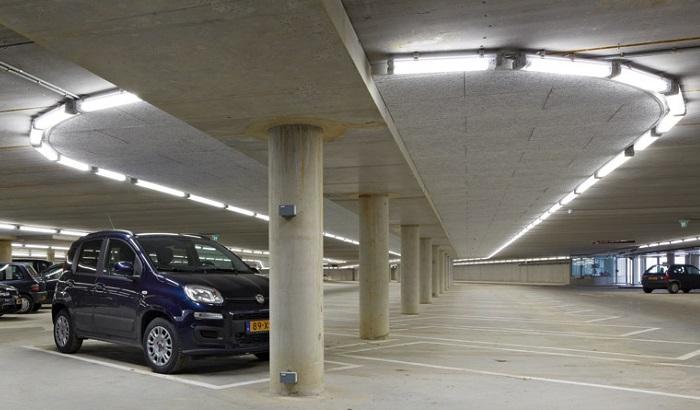 Lợi ích của đèn led đối với bãi gửi xe