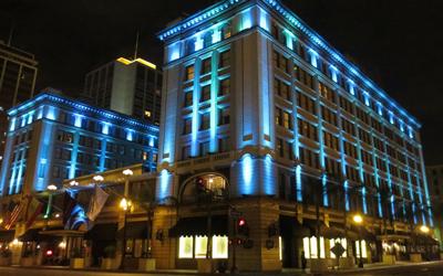 Nguyên tắc thiết kế đèn LED chiếu sáng trong công trình kiến trúc công cộng