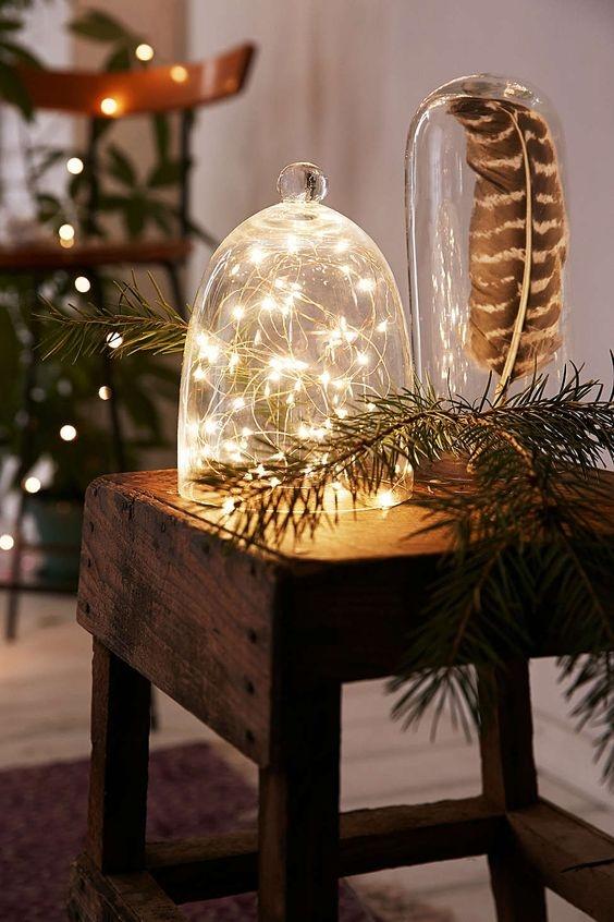 Giáng sinh 2016, trang trí nhà đón Giáng sinh, Noel 2017, trang trí nhà với đèn dây
