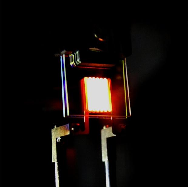 Bản mẫu của loại đèn sợi đốt mới