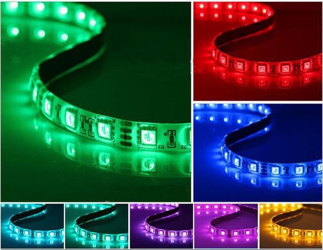 Dây LED nhiều màu, giúp bộ máy tính của bạn rực rỡ trong những ngày đầu năm mới.