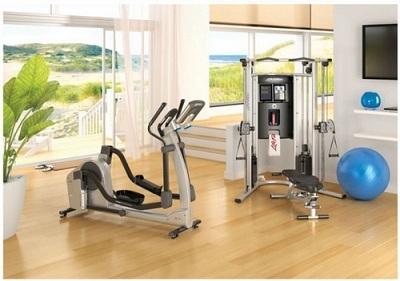 Thiết bị thể dục nên để ở một không gian riêng – Nguồn:maytheduc.com