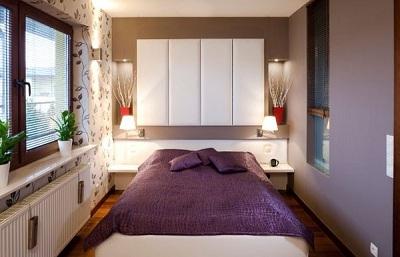 Phòng ngủ quá nhỏ sẽ gây nhiều bất lợi trong sinh hoạt – Nguồn: cuasomoi.vn