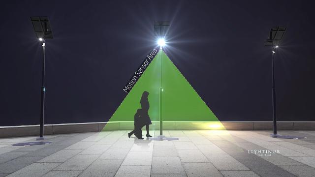 Đèn đường LED thông minh năng lượng mặt trời