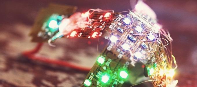 chiếu sáng bằng đèn led