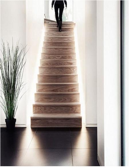 Đèn LED dây trang trí cầu thang