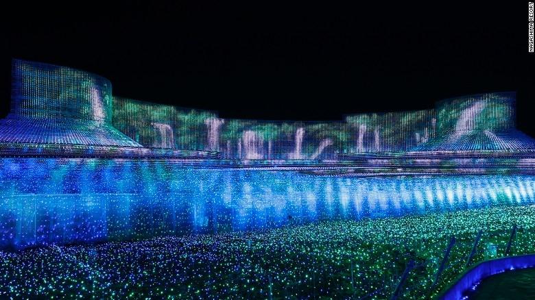 Nhật Bản: Lễ hội ánh sáng mùa đông rực rỡ với 8 triệu bóng đèn LED - Ảnh 4