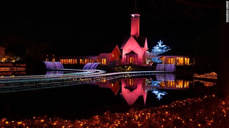 Nhật Bản: Lễ hội ánh sáng mùa đông rực rỡ với 8 triệu bóng đèn LED - Ảnh 8