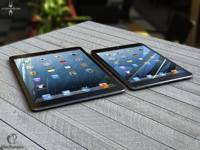 iPad 5 sẽ mỏng và nhẹ hơn nhờ công nghệ màn hình LED
