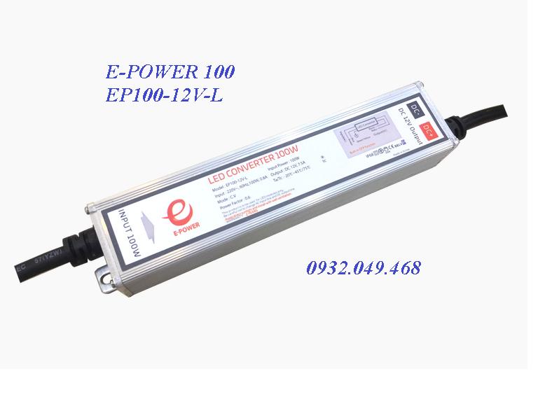 NGUỒN E-POWER 100W,  EP100-12V-L