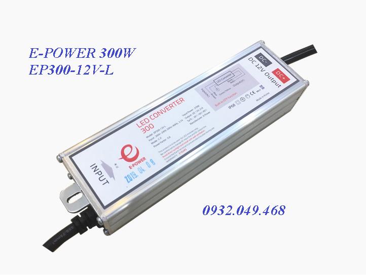 NGUỒN E-POWER 300W,  EP300-12V-L