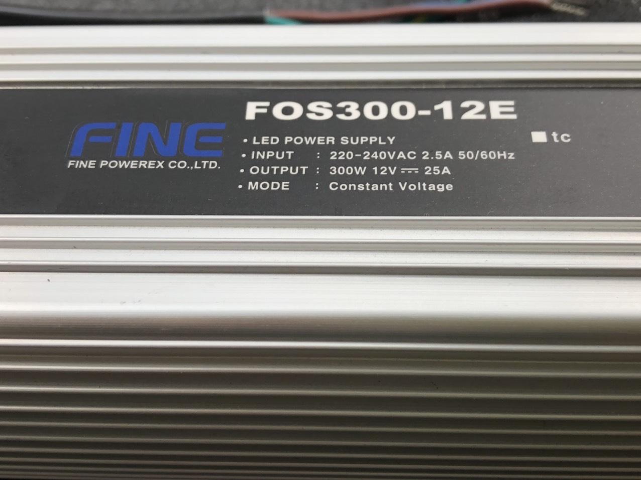 NGUỒN HÀN QUỐC IP68 12V 300W FOS300-12E