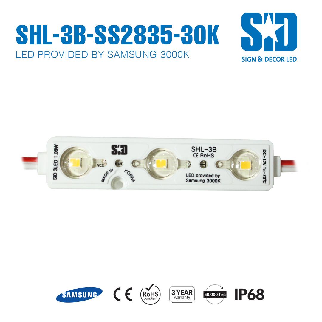 SHL-3B-SS2835-30K