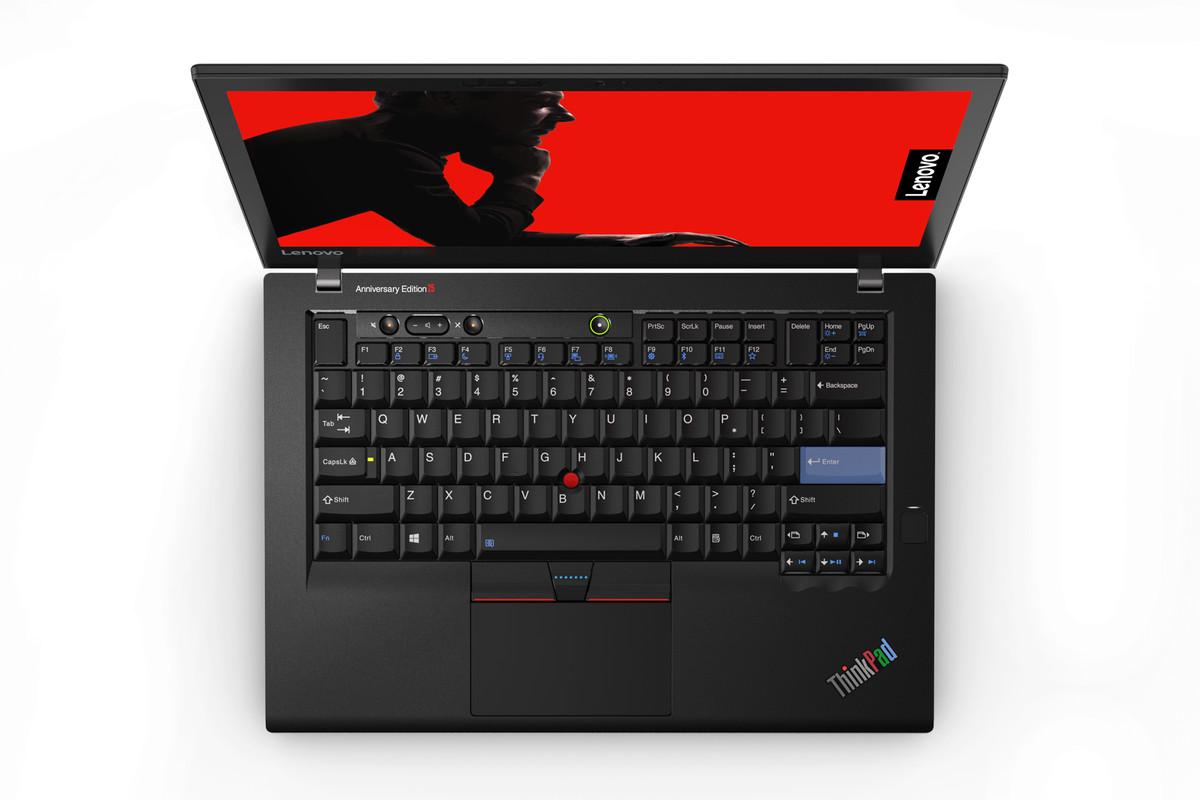 Lenovo trình làng mẫu laptop đặc biệt số lượng có hạn kỷ niệm dòng ThinkPad tròn 25 tuổi