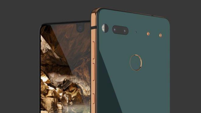 Đèn led thông báo ở camera trước của Essential Phone sẽ có trong nay mai
