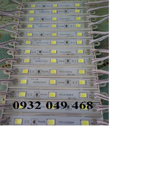 LED MODULE 3 BÓNG TRẮNG 5054
