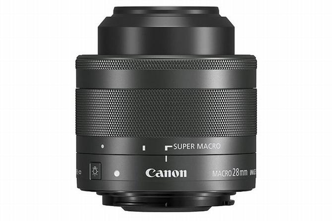 Mắt ống kính Marco của Canon lần đầu tiên tích hợp đèn LED