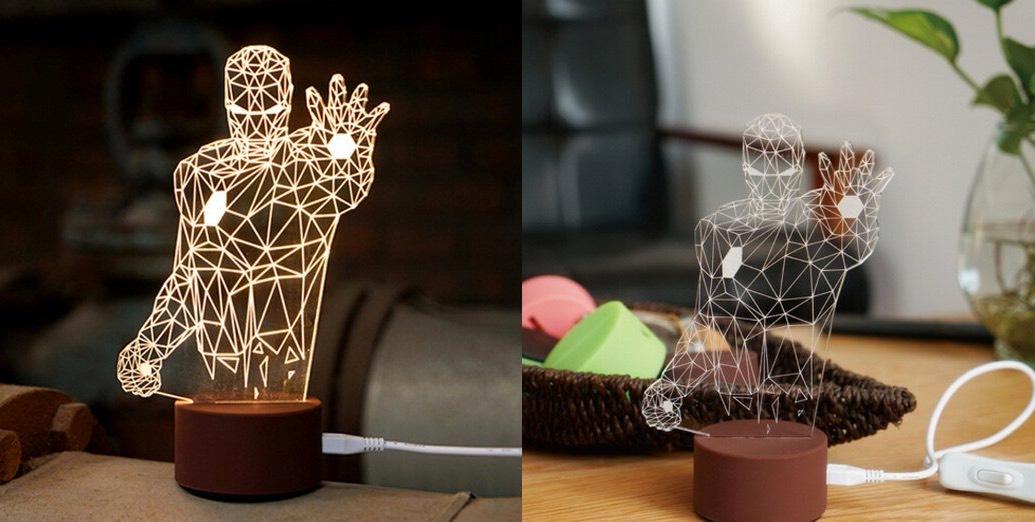 Những mẫu đèn trang trí độc nhất vô nhị sẽ khiến bạn rung rinh