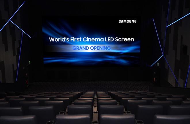 Samsung giới thiệu hệ thống màn hình LED cinema 4K đầu tiên trên thế giới
