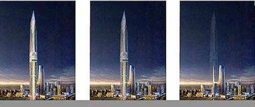 Hàn Quốc xây tháp