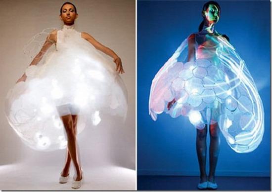 Những bộ cánh cực lộng lẫy bằng đèn LED