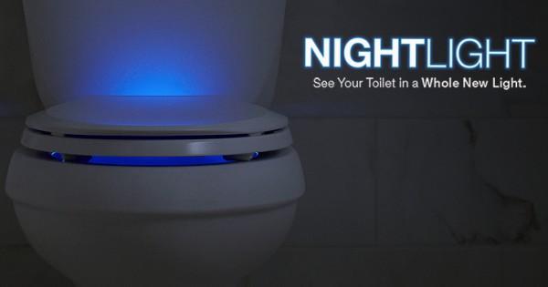 Dùng đèn LED chiếu sáng cho toilet, giải pháp hiệu quả để cải tiến việc đi vệ sinh của con người