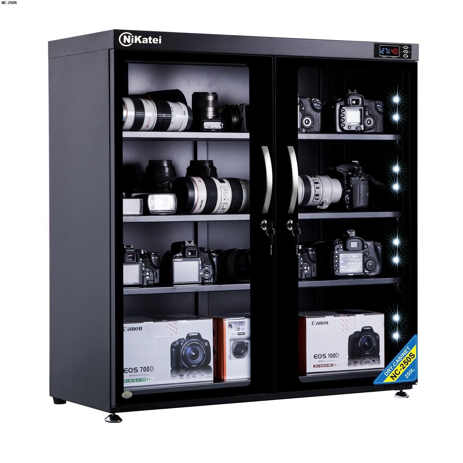 NIKATEI ra mắt loạt tủ chống ẩm mới tại Việt Nam, có hỗ trợ đèn LED