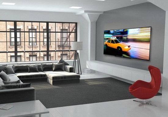 TV LED có kích thước khủng lên đến 90 inch với giá gần 400 triệu đồng